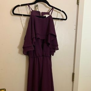 Francesca's NWT Purple Party Dress Size Small
